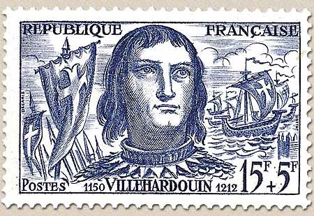Villehardouin, conquête de COnstantinopleac