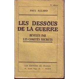 guerre de 1914,soldats massacrés,comités secrets
